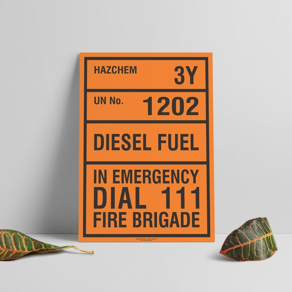 Hazchem Signs - Hazard Signs NZ