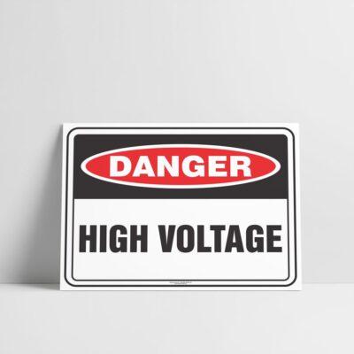 High Voltage Sign - Hazard Signs NZ