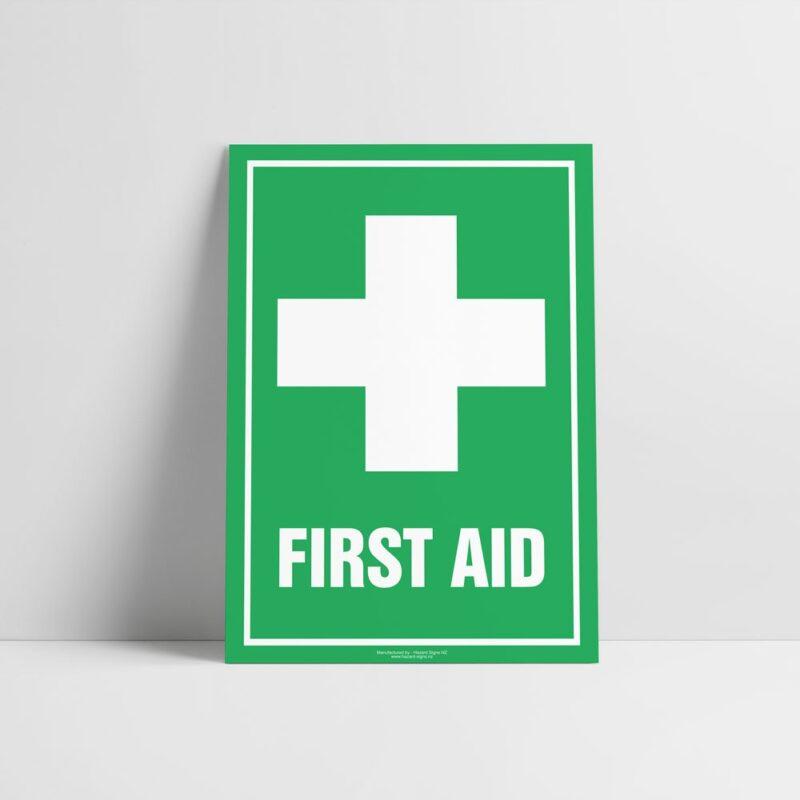 First Aid Sign - Emergency Sign - Hazard Signs NZ