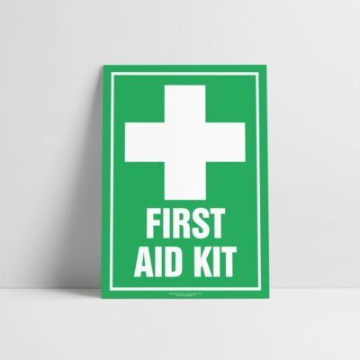 First Aid Kit Sign - Emergency Sign - Hazard Signs NZ
