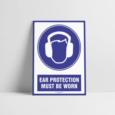 Ear Protection Must Be Worn Sign - Mandatory Signs - Hazard Signs NZ