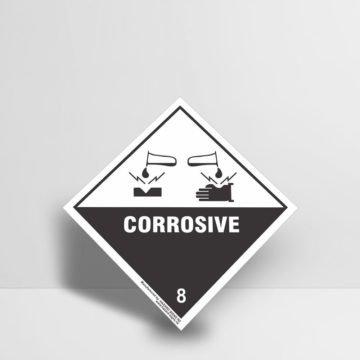 Corrosive Sign - Hazard Signs NZ