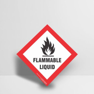 Flammable Liquid Sign - Hazard Signs NZ