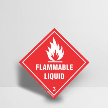 Flammable Liquid Sign Class 3 - Hazard Signs NZ