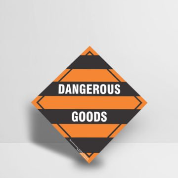 Dangerous Goods Sign - Hazard Signs NZ