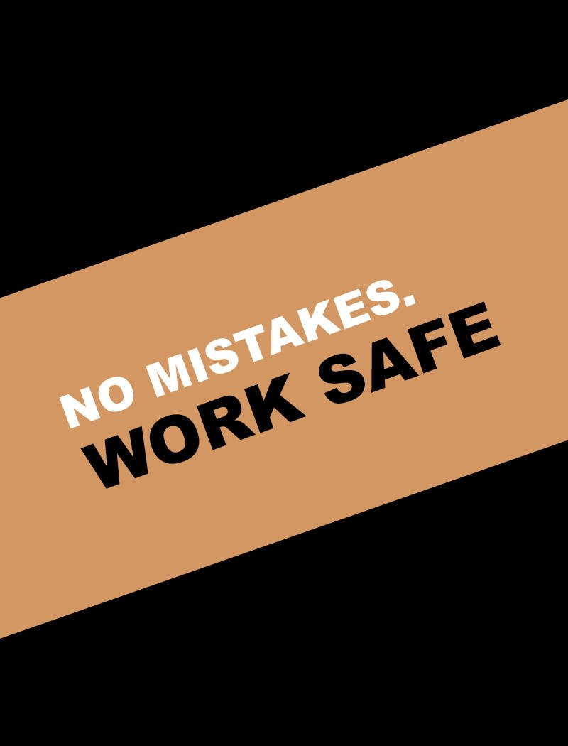 No Mistakes at Workplace - Hazard Signs NZ