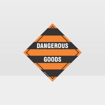 Dangerous Goods Sign