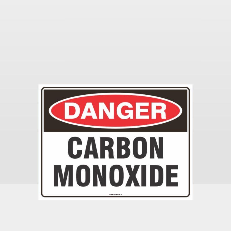 Danger Carbon Monoxide Sign