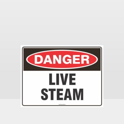 Danger Live Stream Sign