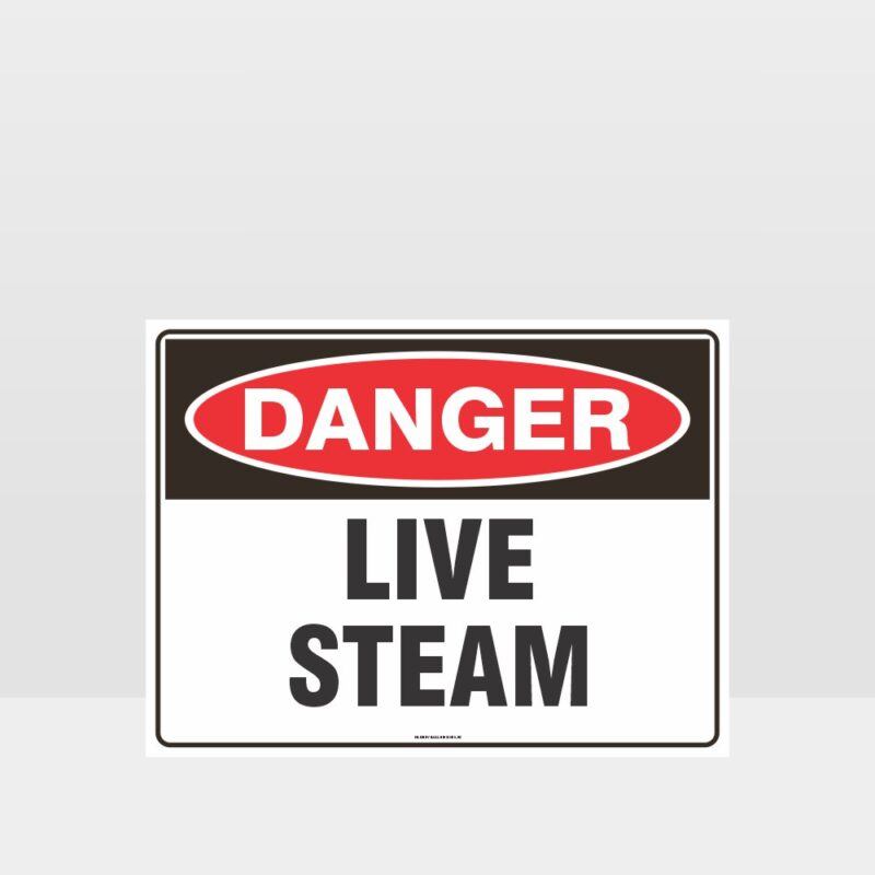 Danger Live Stream Sign
