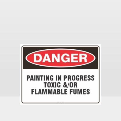 Danger Painting In Progress Sign