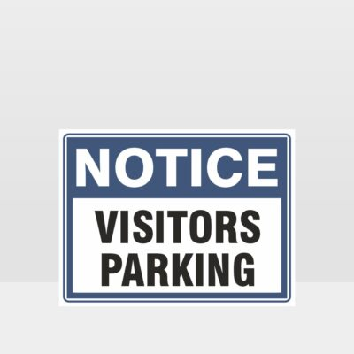 Visitors Parking Sign