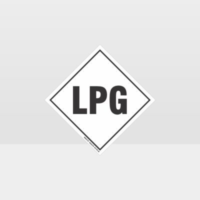 LPG Hazard Sign