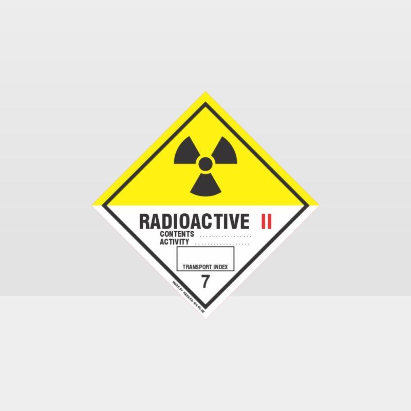 Class 7 Radioactive 2 Sign