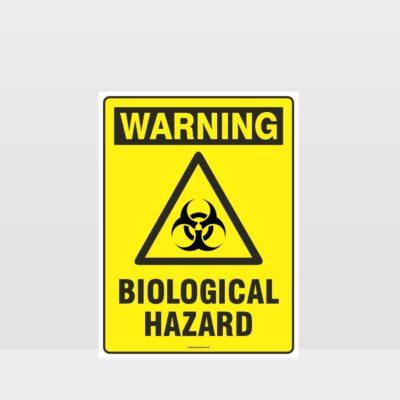 Warning Biological Hazard Sign