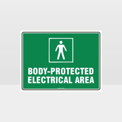 Body-Protected Electrical Sign