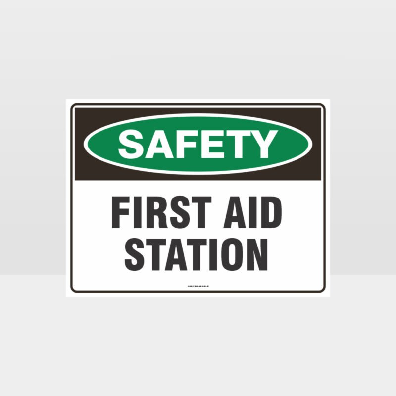 First Aid Station Sign