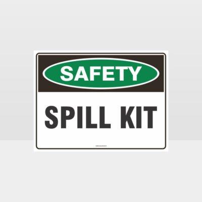Spill Kit Sign