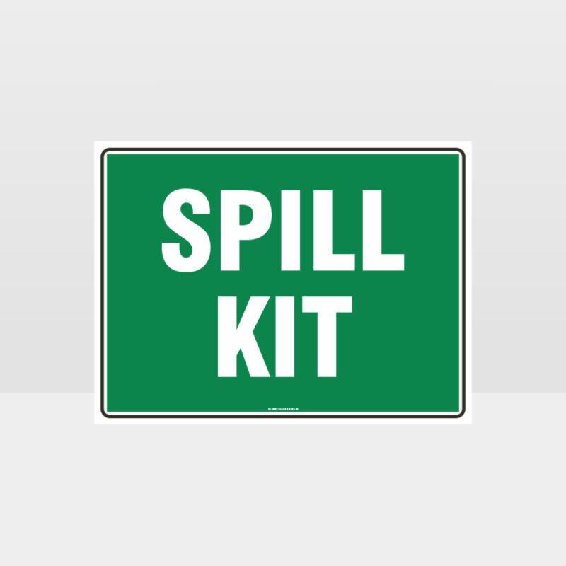 Spill Kit 01 Sign