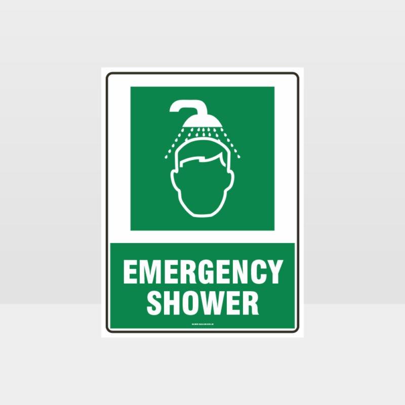 Emergency Shower 01 Sign