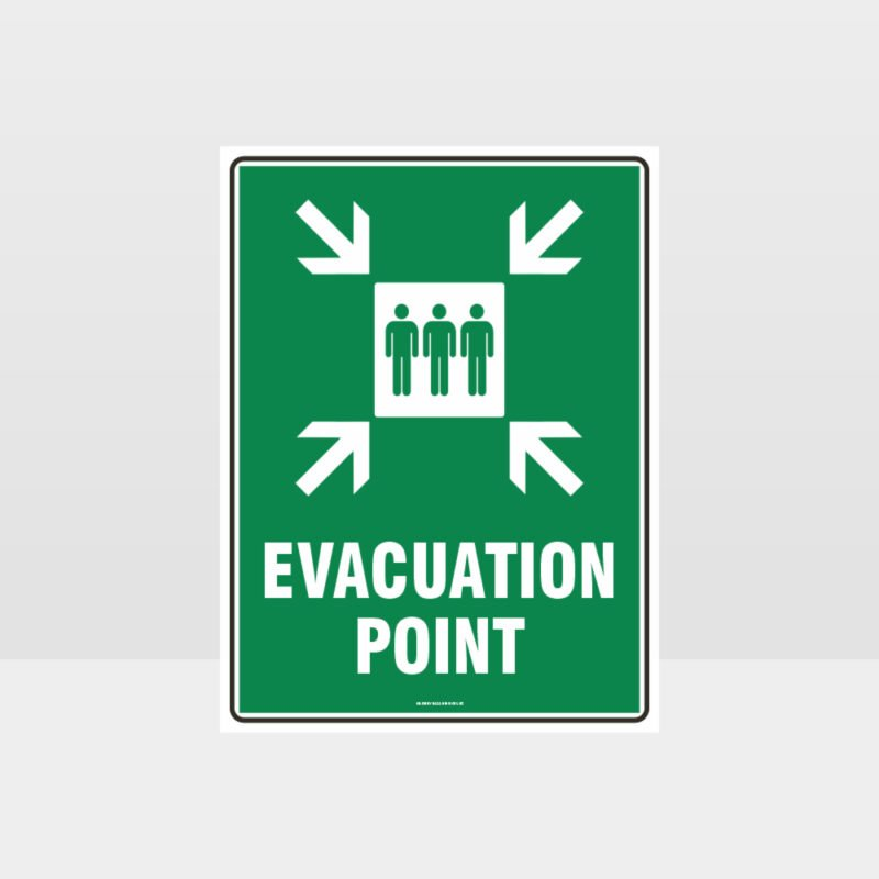 Evacuation Point Sign