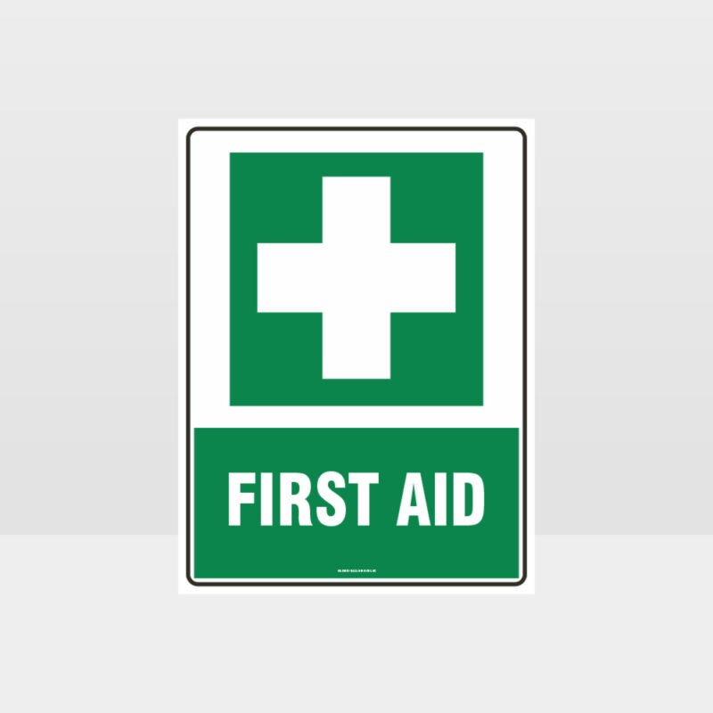 First Aid 01 Sign