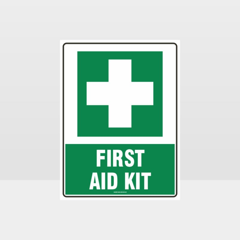 First Aid Kit 01 Sign