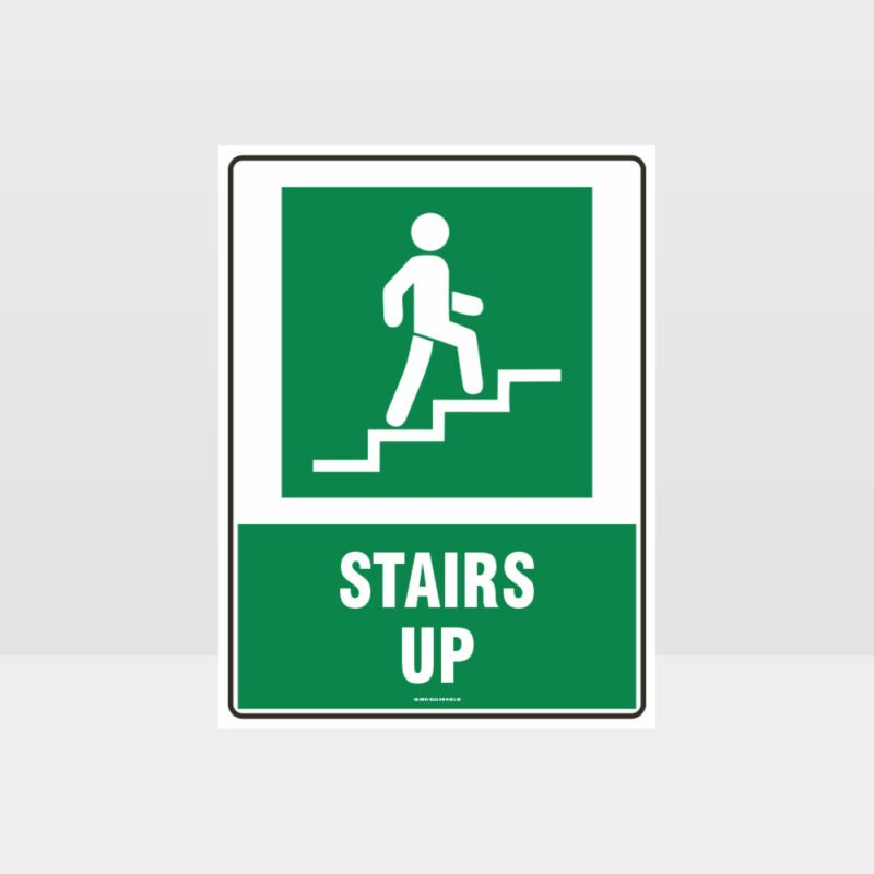Stairs Up Sign