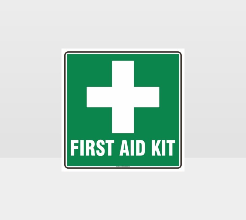 First Aid Kit White Cross