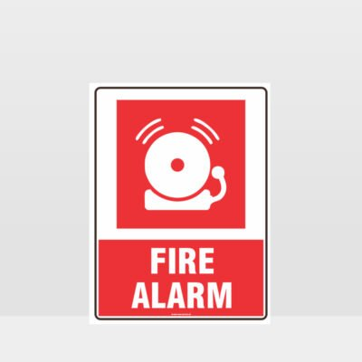 Fire Alarm Bell Sign 02