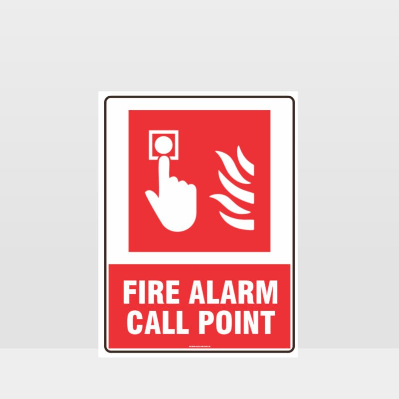 Fire Alarm Call Point Sign 02