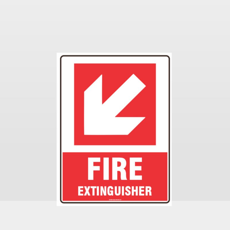 Fire Extinguisher 03 Sign