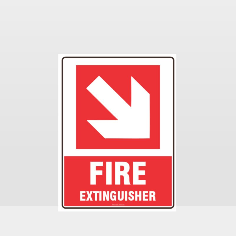 Fire Extinguisher 04 Sign