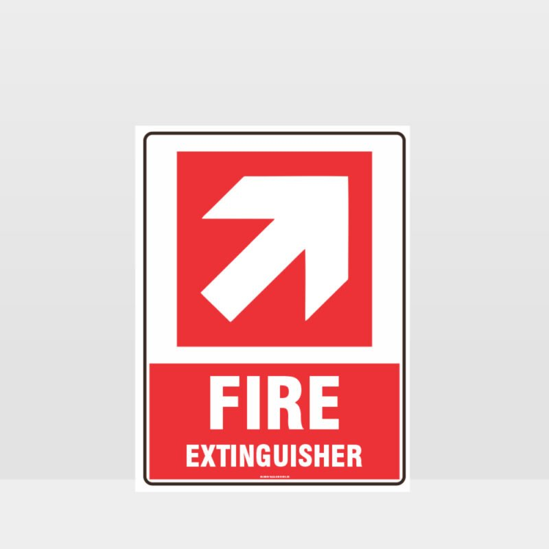 Fire Extinguisher 05 Sign