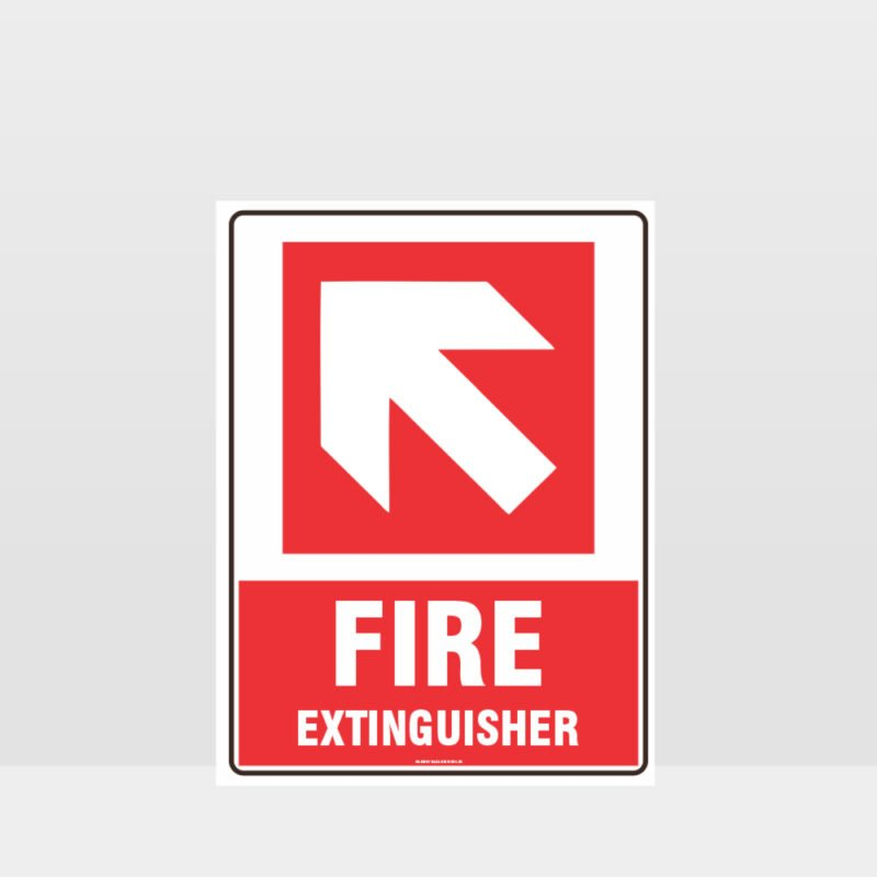 Fire Extinguisher 06 Sign