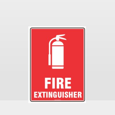 Fire Extinguisher 08 Sign