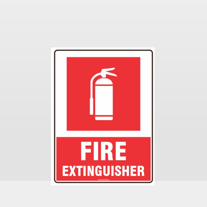 Fire Extinguisher 09 Sign
