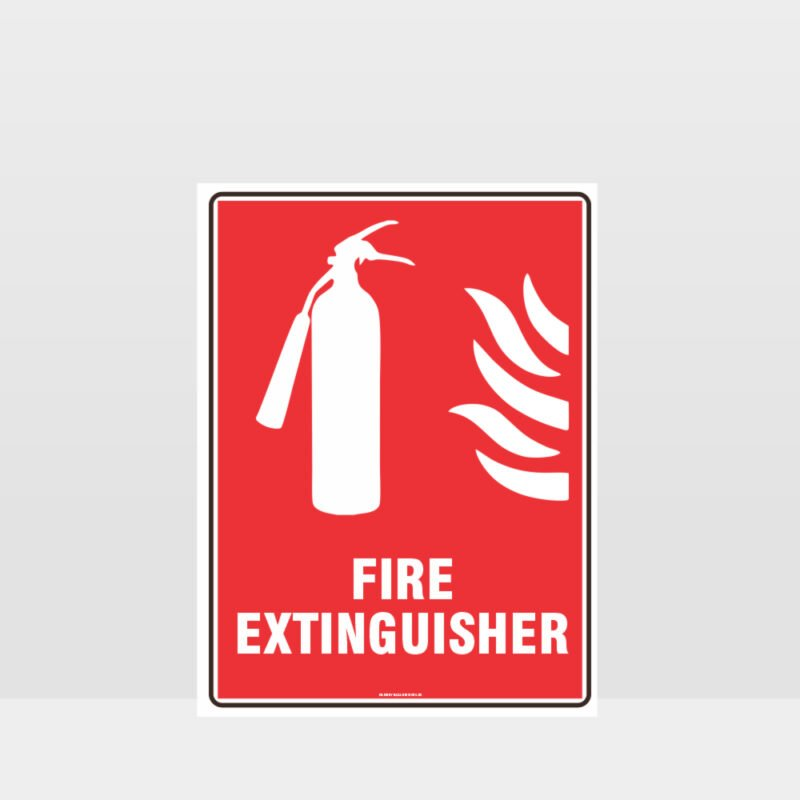 Fire Extinguisher 10 Sign