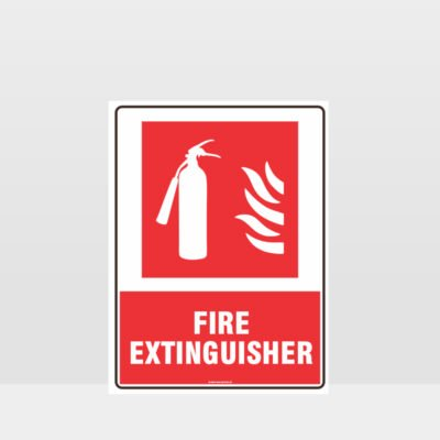 Fire Extinguisher 11 Sign