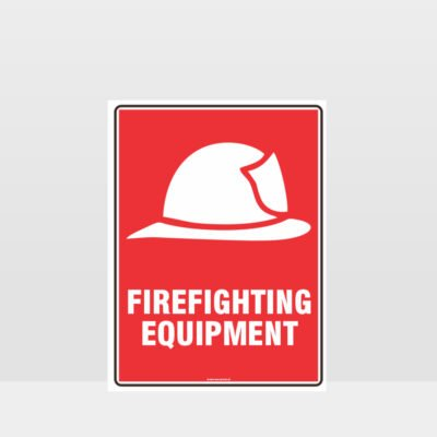 Firefighting Equipment Sign