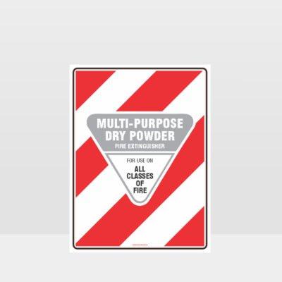 Multi Purpose Dry Powder Sign