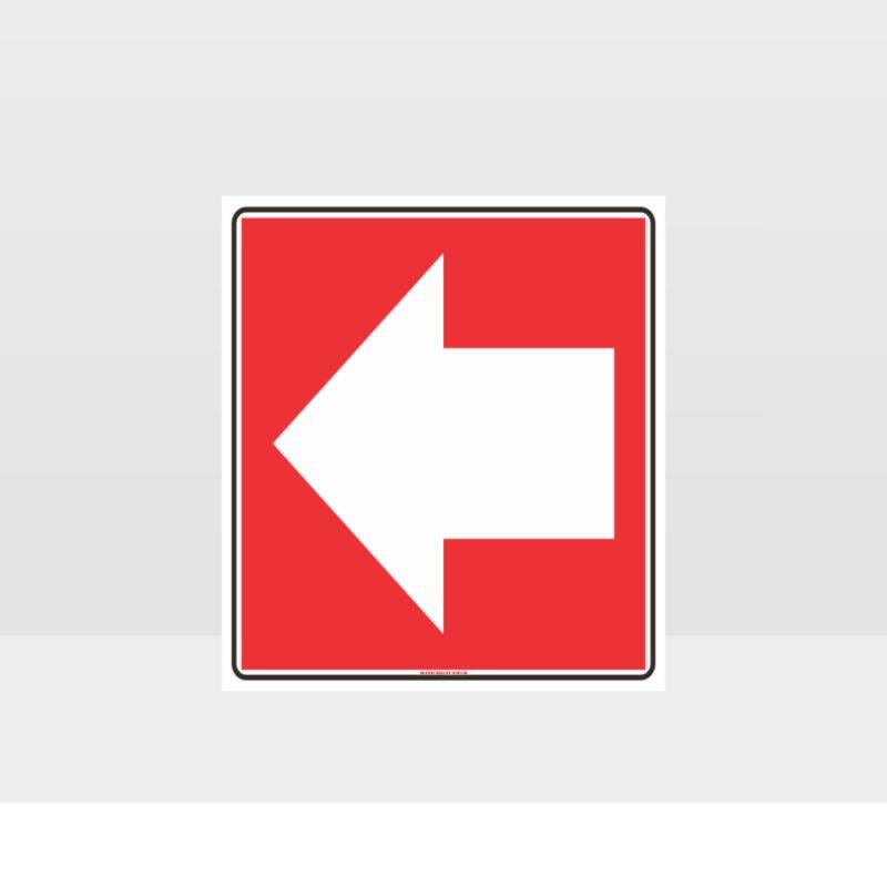 Arrow Left Sign
