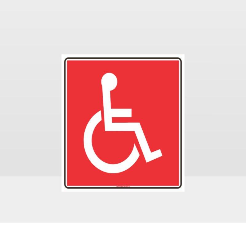 Wheel Chair Sign