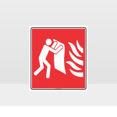 Fire Blanket symbol Sign