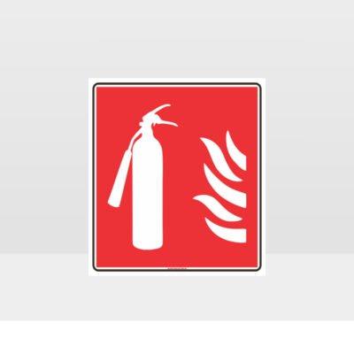 Fire Extinguisher Label Sign