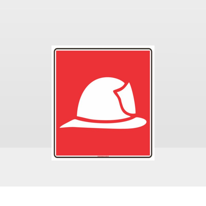 Fire Hat Symbol Sign