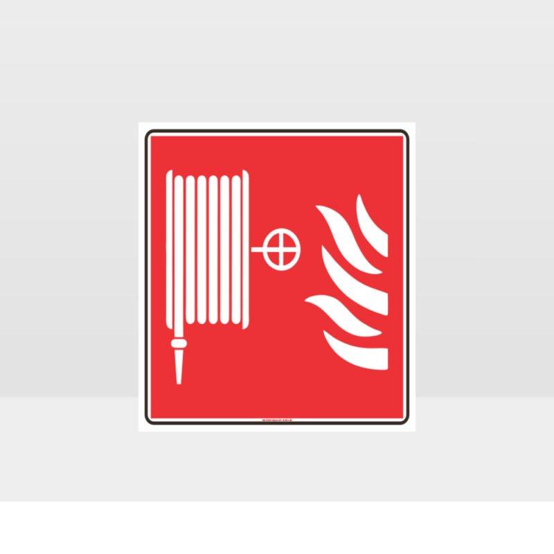 Fire Hose Symbol Sign