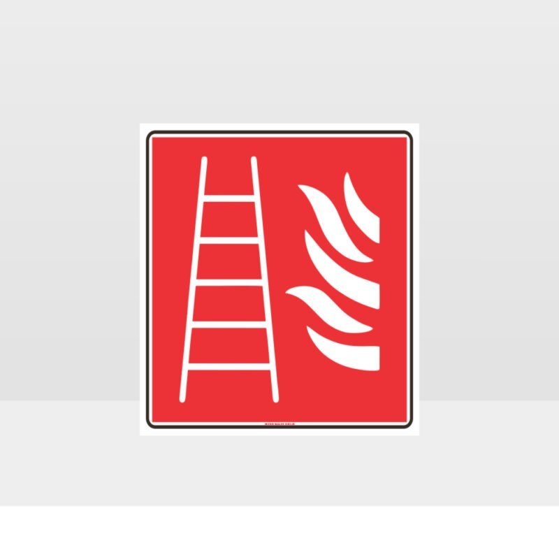 Fire Ladder Sign