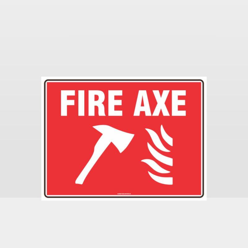 Fire Axe Sign