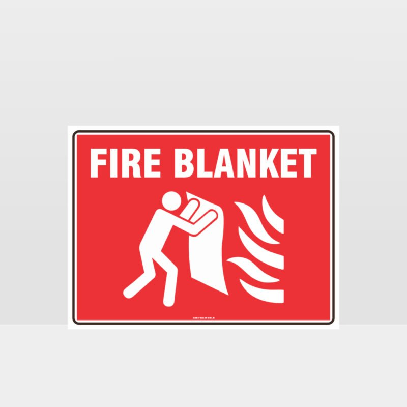 Fire Blanket 01 Sign